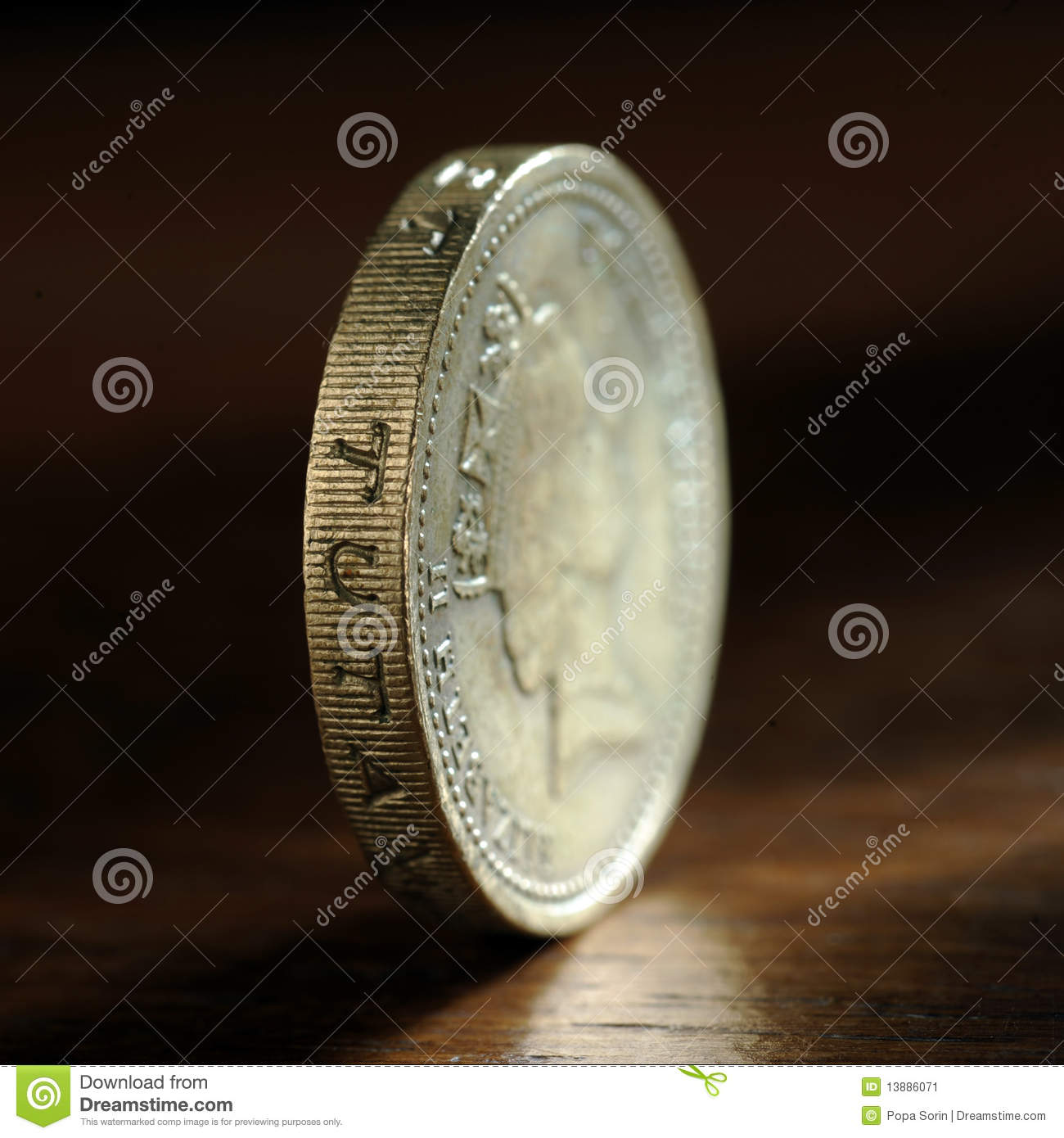 One pound sterling