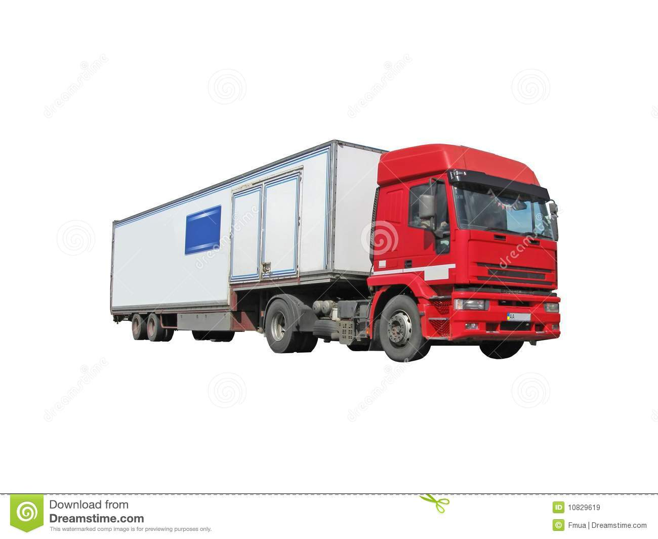 red diesel heavy cargo truck fuel lorry royalty free stock images image 10829619. Black Bedroom Furniture Sets. Home Design Ideas