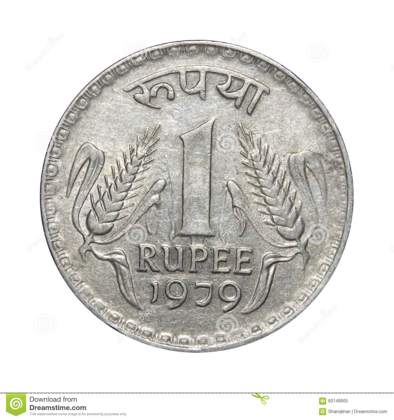 Justice scale stock image image 605751 - One Rupee Coin India Royalty Free Stock Photo