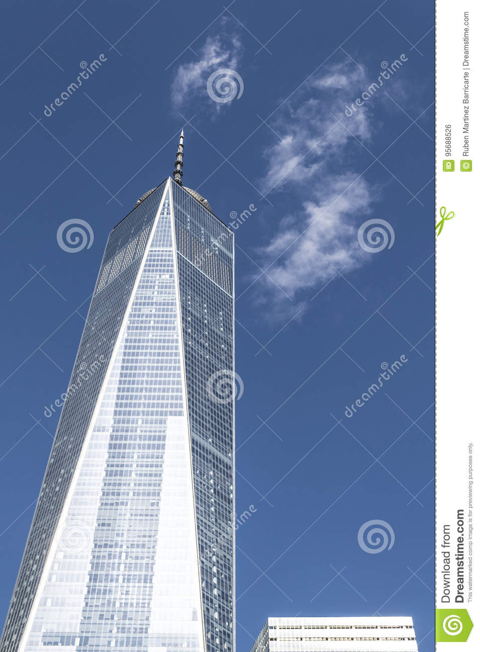 One World Trade Center In The Financial District Of Nyc Editorial