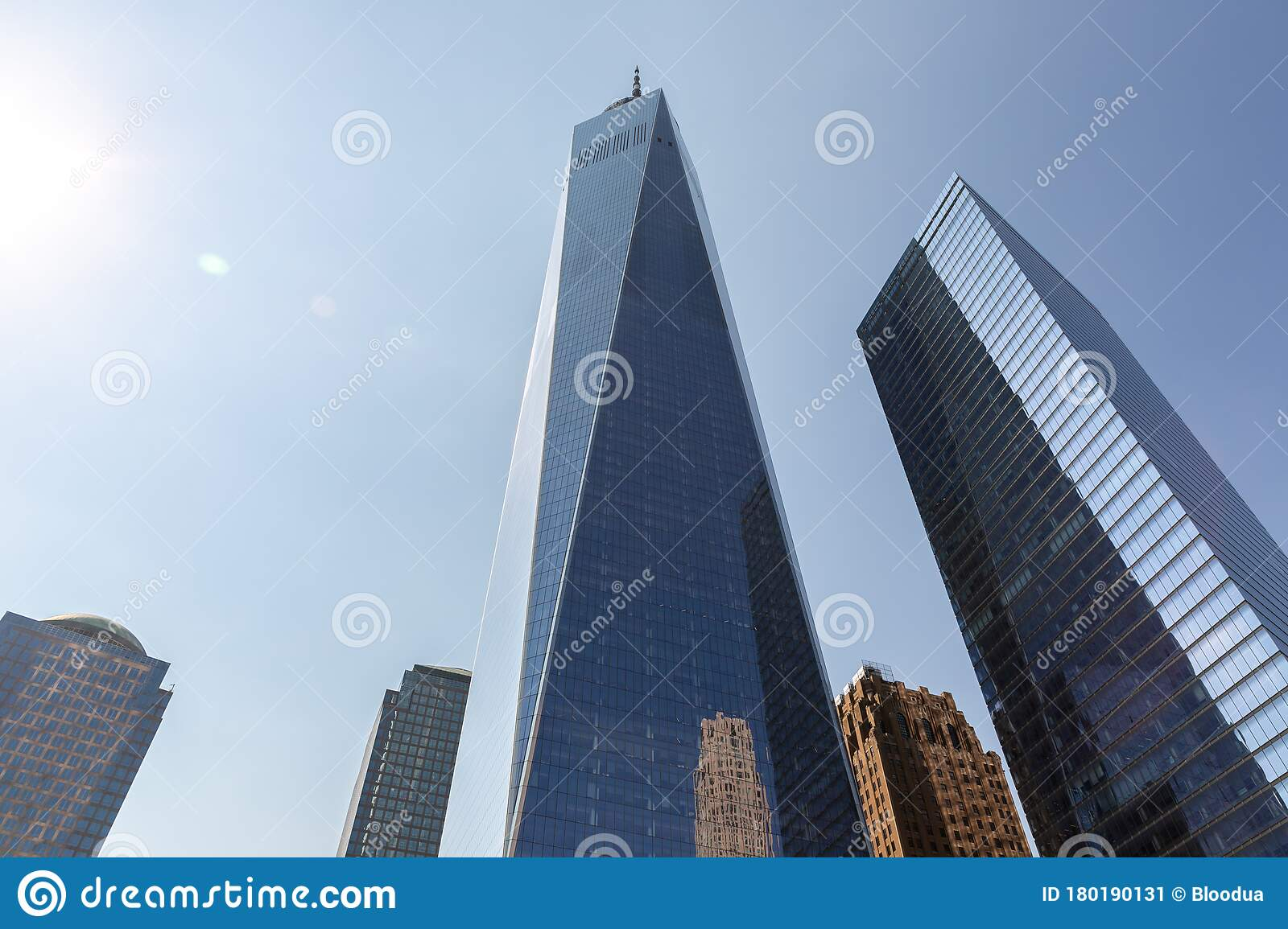 One World Trade Center In New York Editorial Photo Image Of United American 180190131
