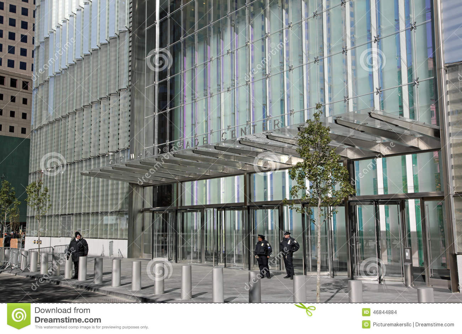 One World Trade Center Wtc New York City Editorial Stock