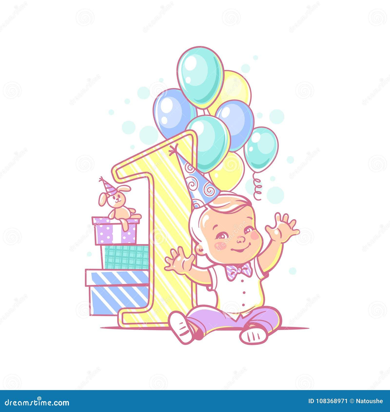 Baby Boys First Birthday