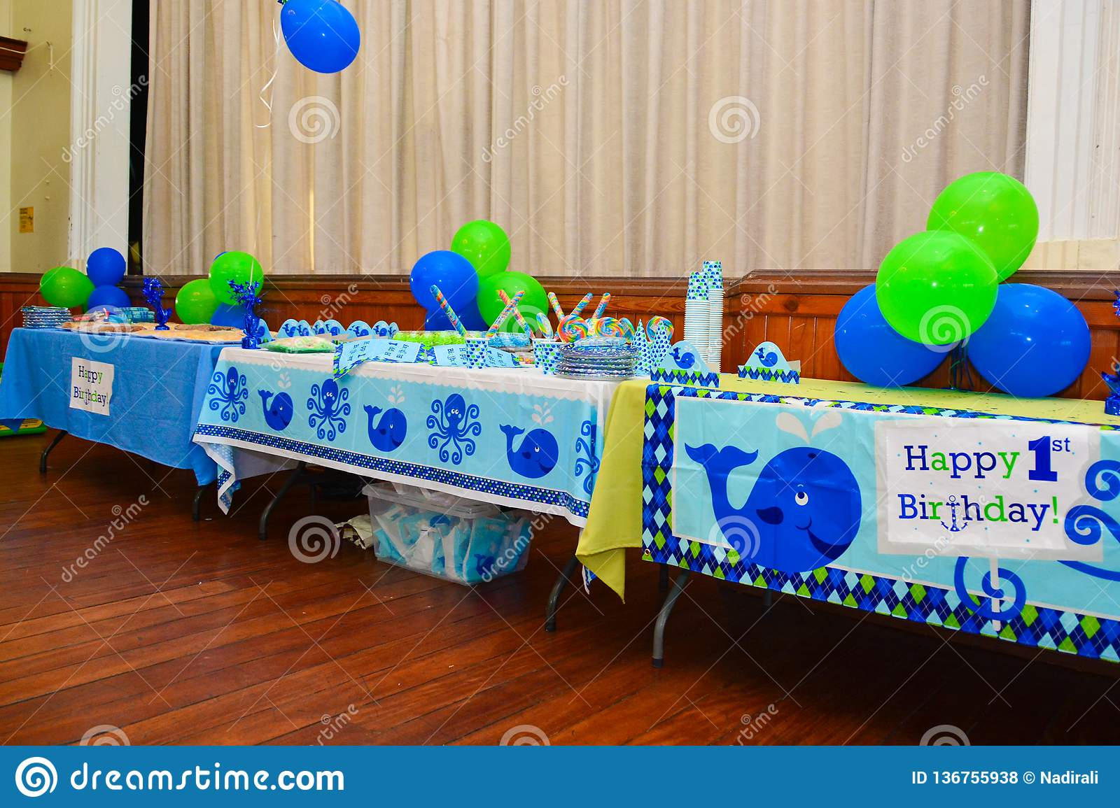 Birthday Party Decorations For A One Year Old Boy