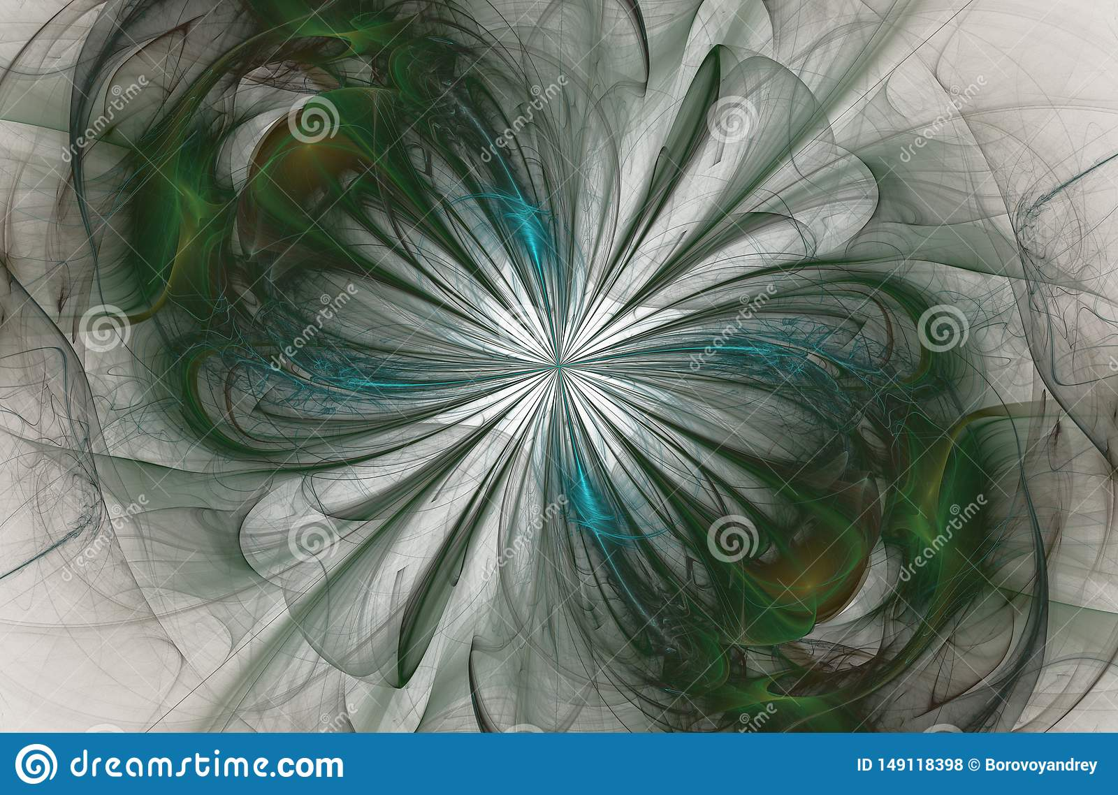 Oneindigheidsteken, computer geproduceerde fractal