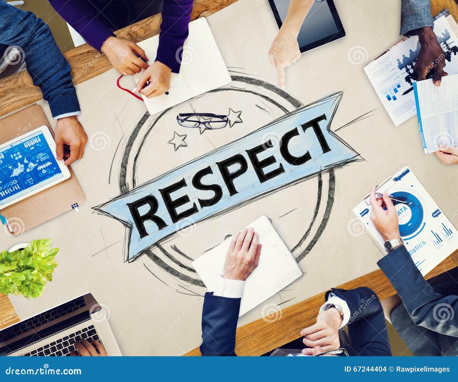 Onestà Regard Integrity Concept onorato di rispetto