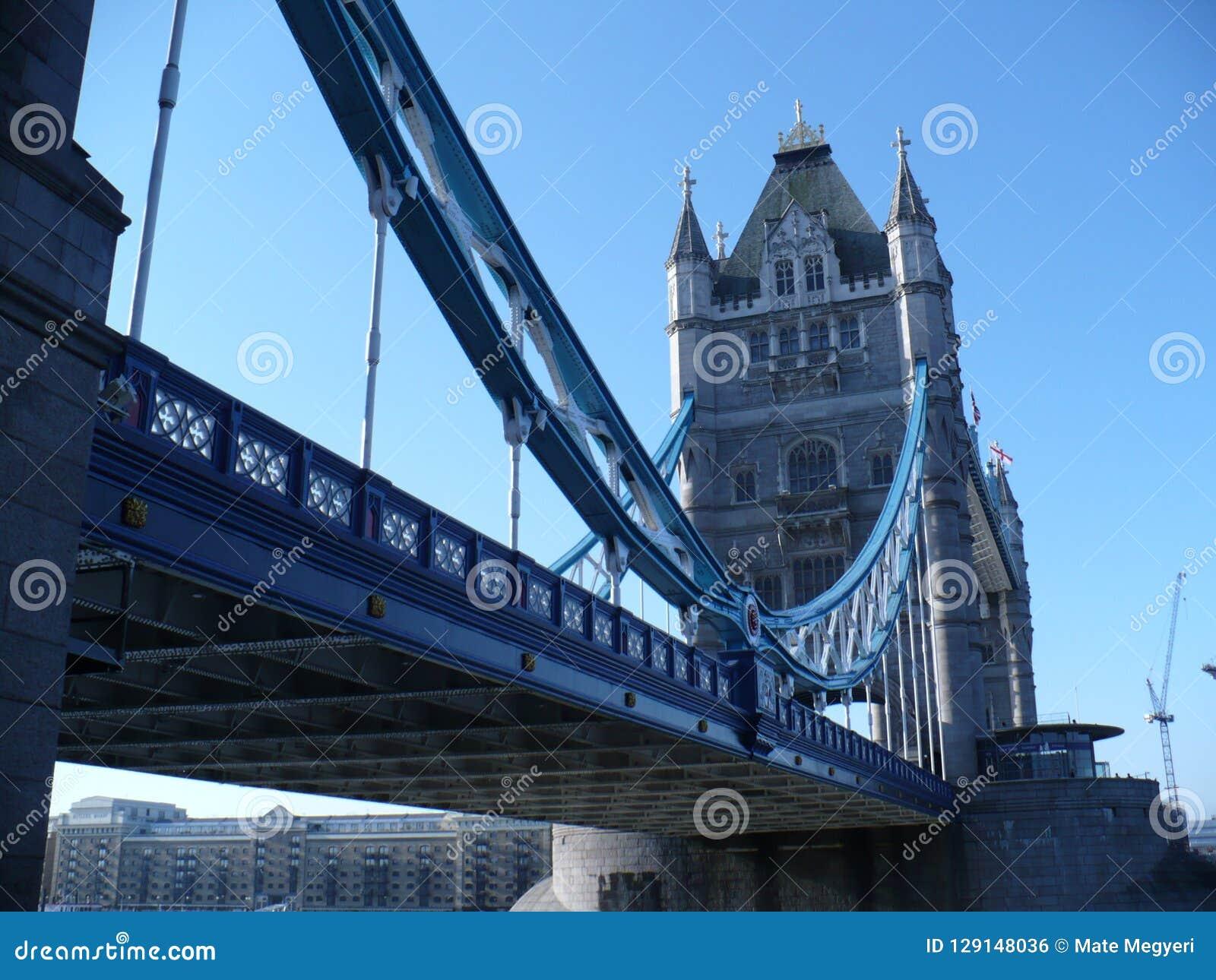 Ongebruikelijk perspectief van Torenbrug
