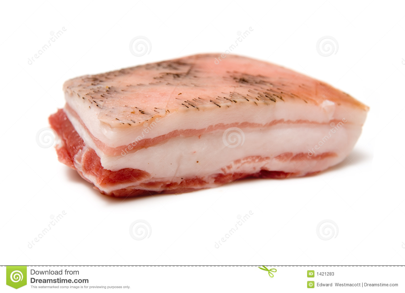 Ongekookt varkensvlees
