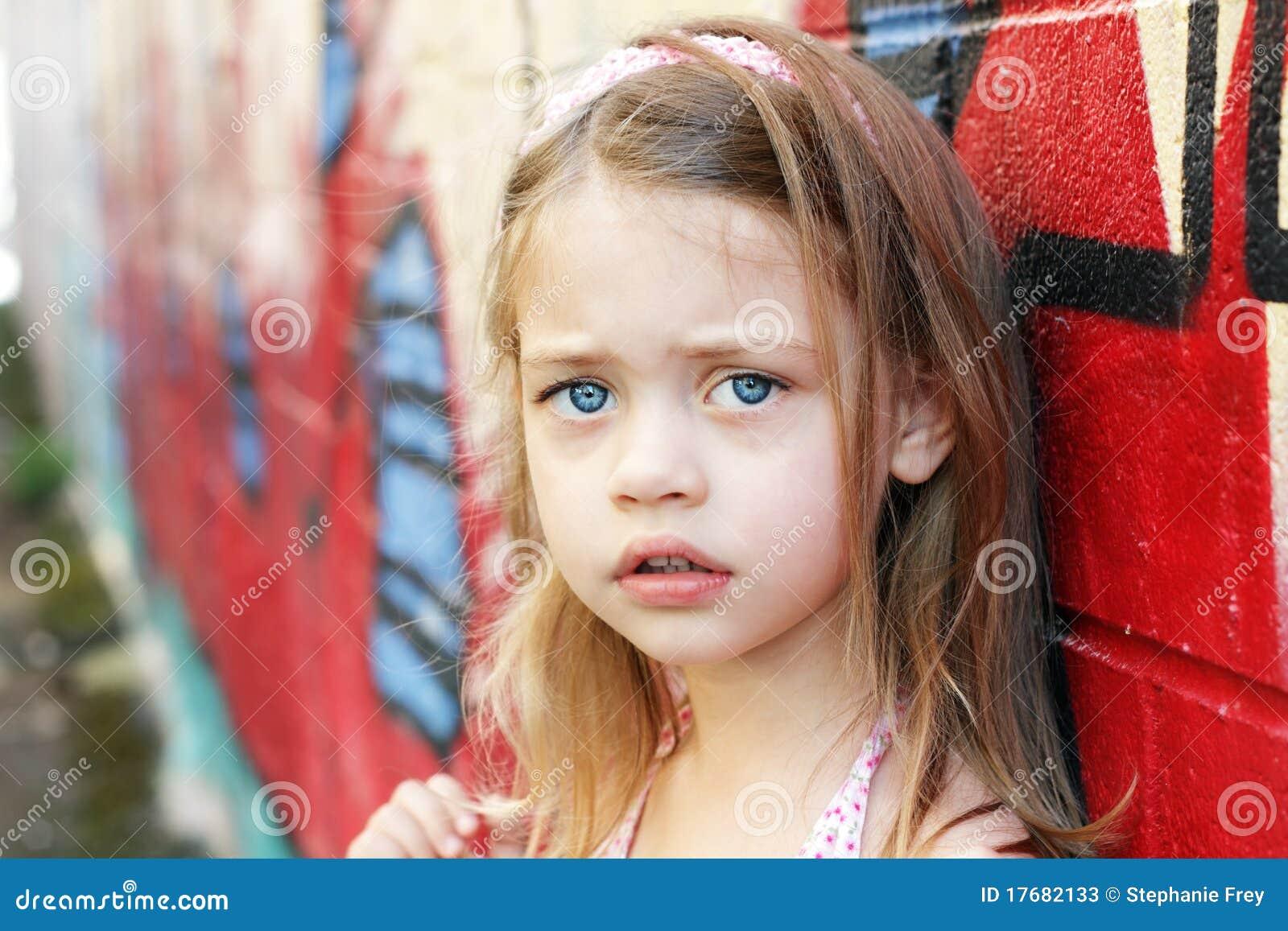 Ongerust gemaakt Kind