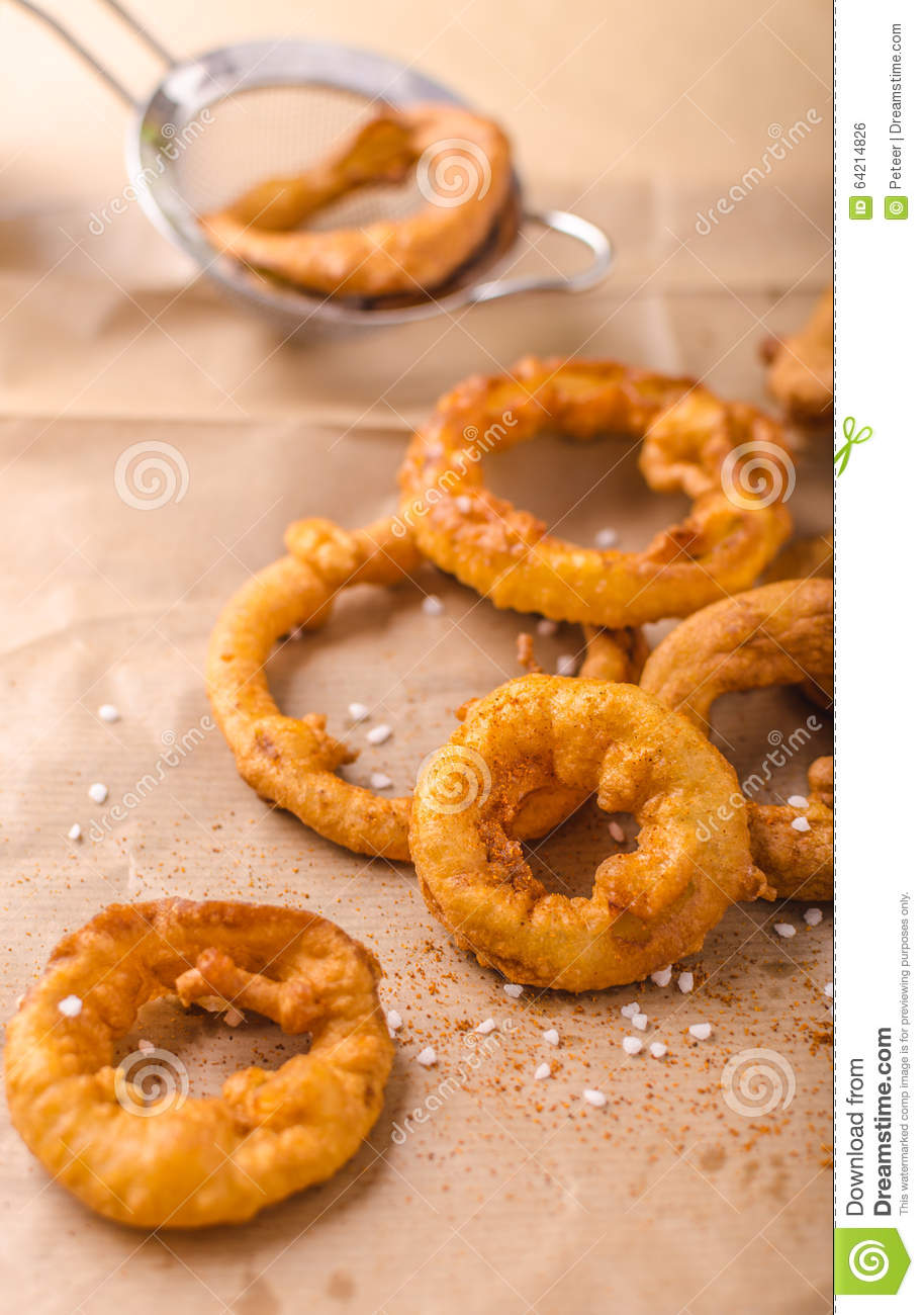 Simple Delicious Onion Rings