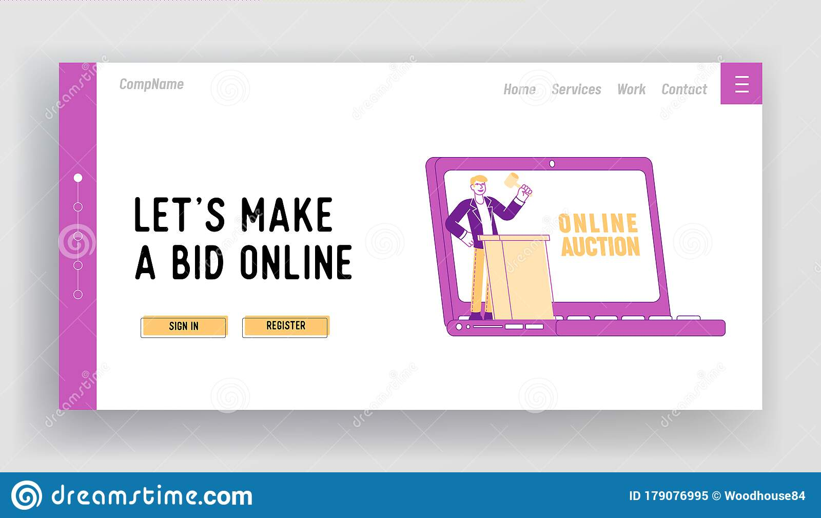 Auction Template Stock Illustrations – 21,21 Auction Template With Regard To Auction Bid Cards Template