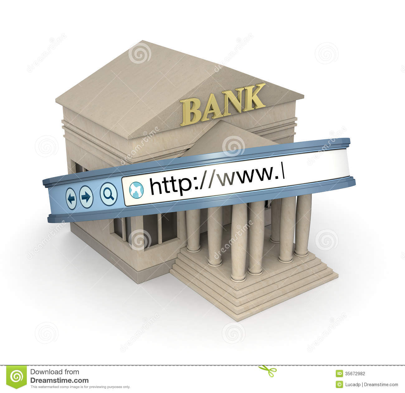 Online Banking Stock Photography Image 35672982