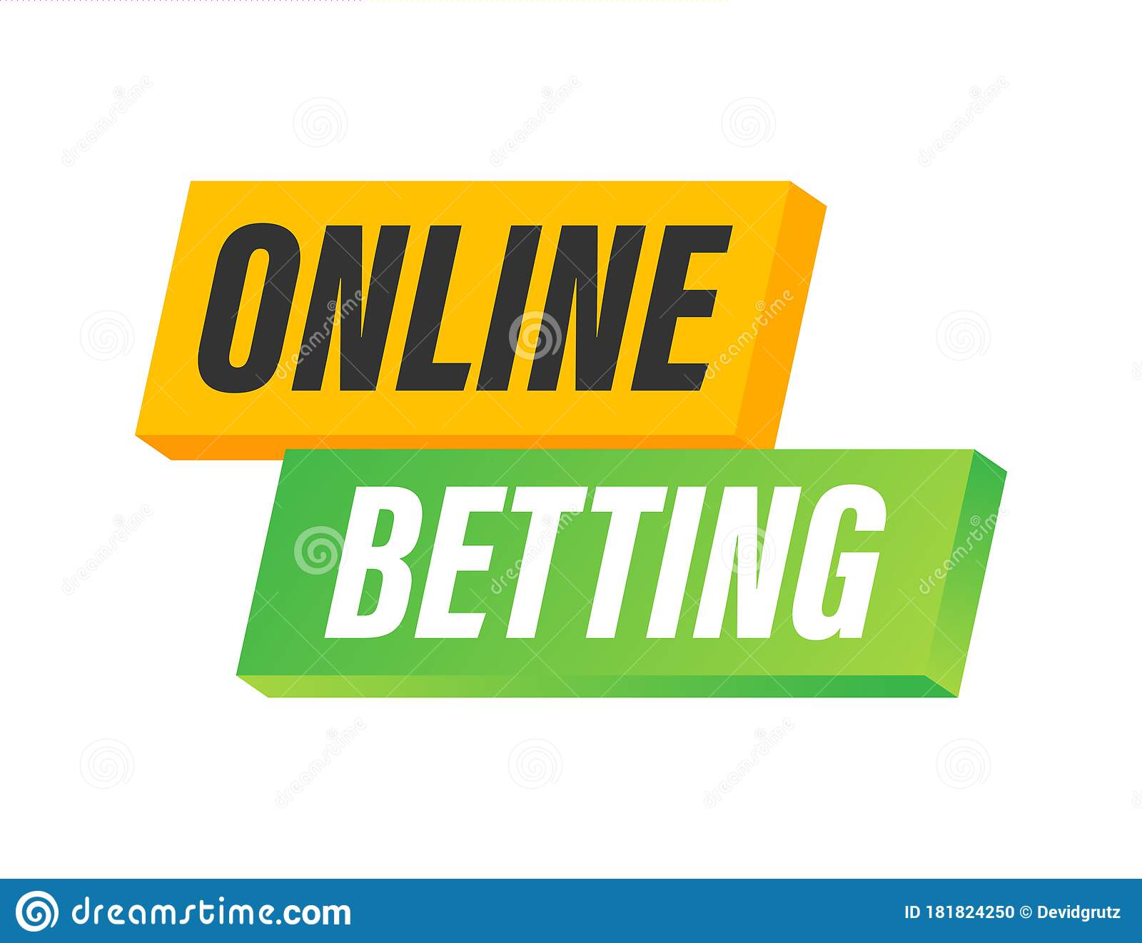 Online Betting. Flat Web Banner With Red Bet Now On White Background For  Mobile App Design. Vector Stock Illustration. Stock Vector - Illustration  of flat, gambling: 181824250