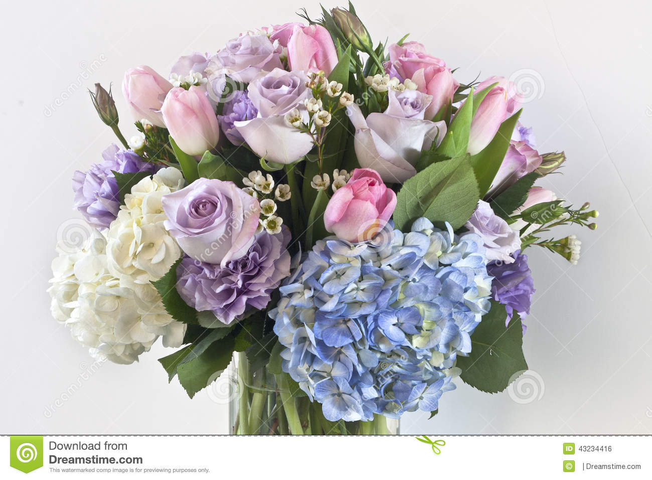 line Bouquet Delivery In Ghaziabad Stock Image