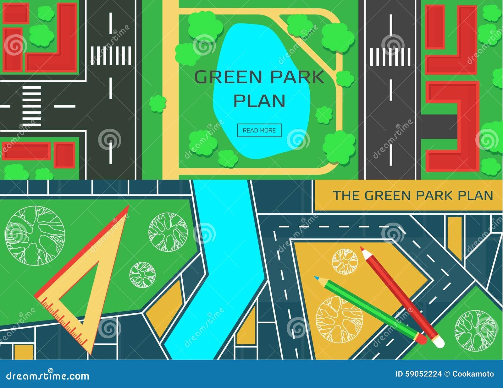 E poster design software - Online City Garden Creative Design Stock Images