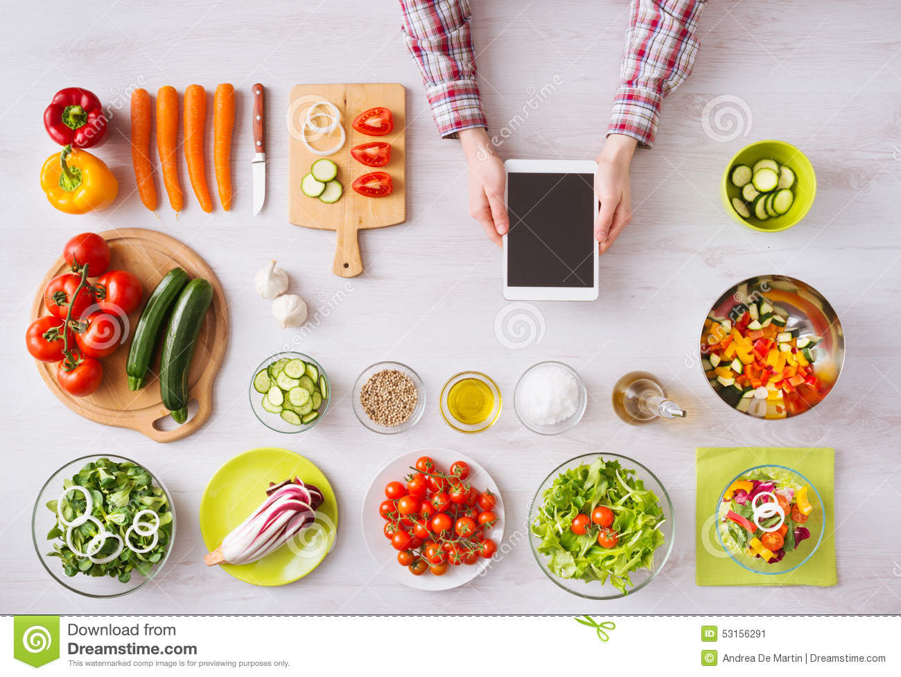 Online cooking app with kitchen worktop stock image image of online cooking app with kitchen worktop forumfinder Image collections