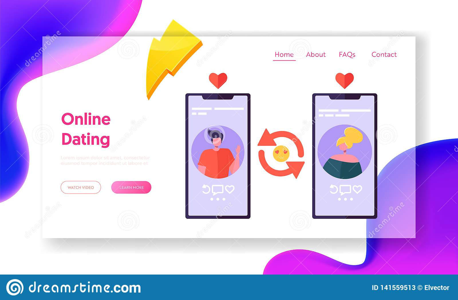 use of online dating websites