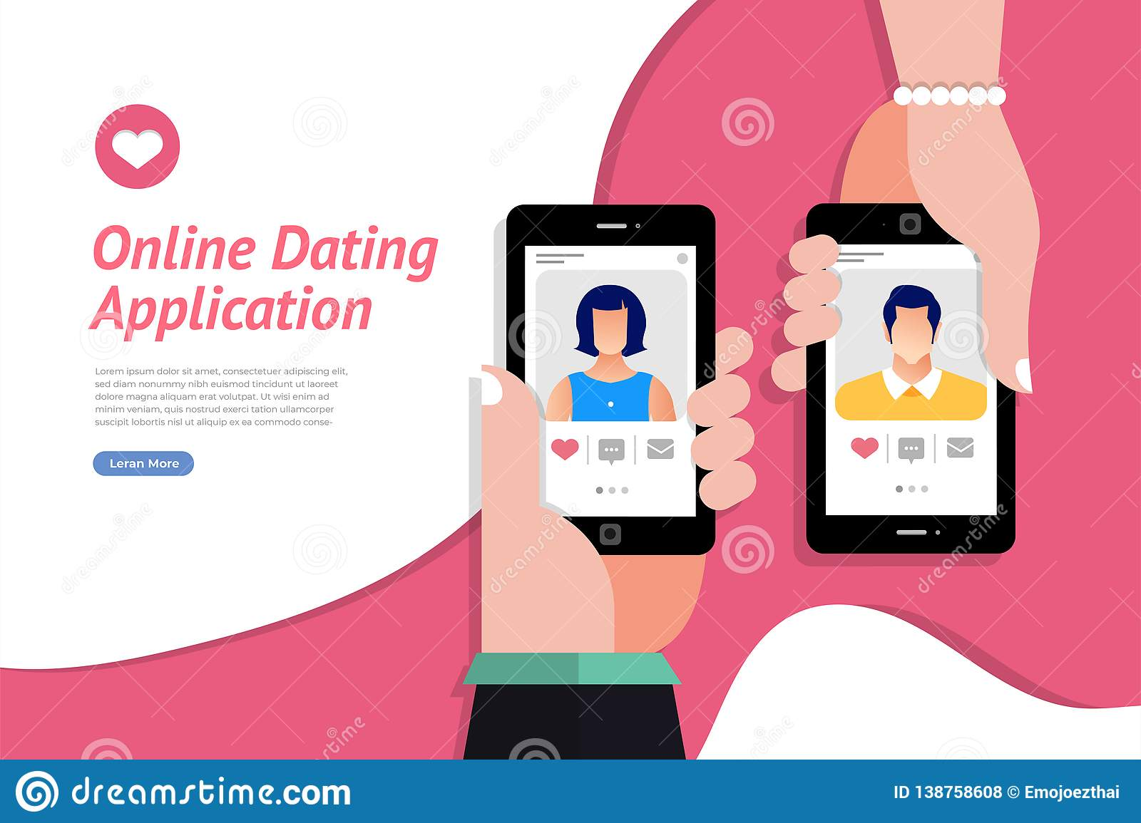 Online dating applications