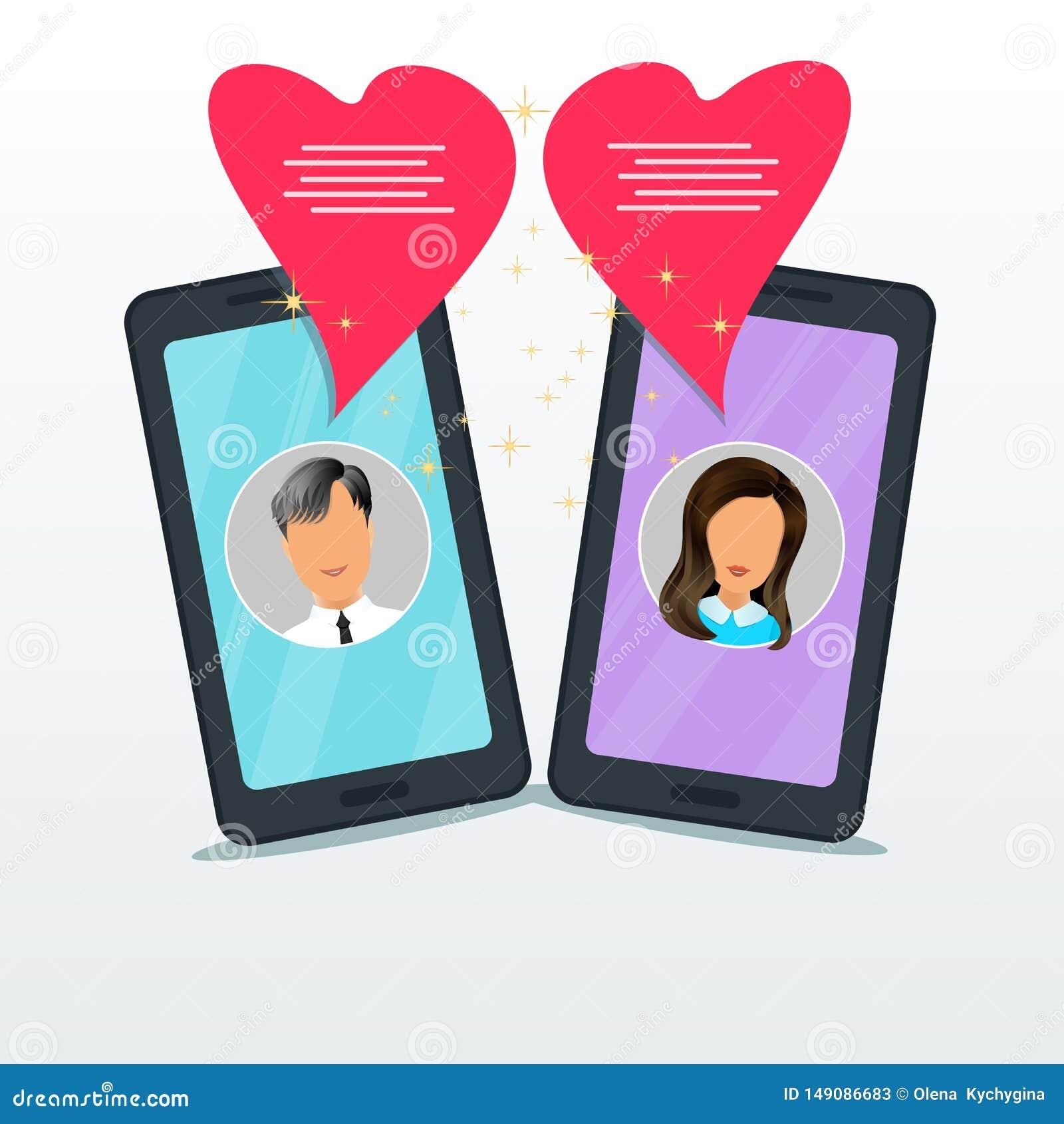 Wie man auf Online-Dating chatten