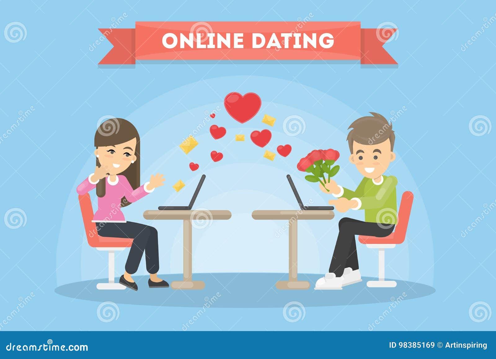 juggling online dating