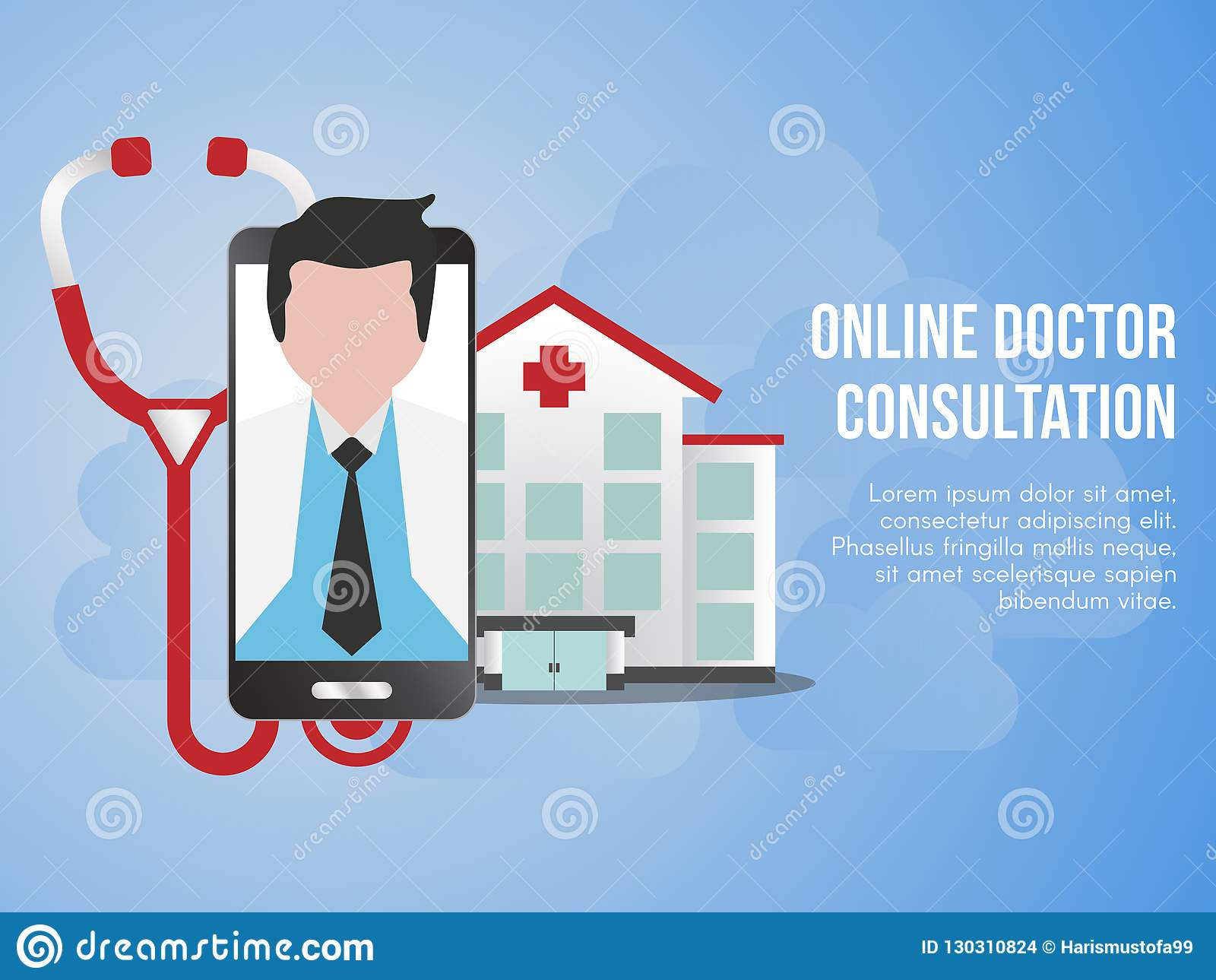 Doctor Consultation Banners Winter Holiday Banners