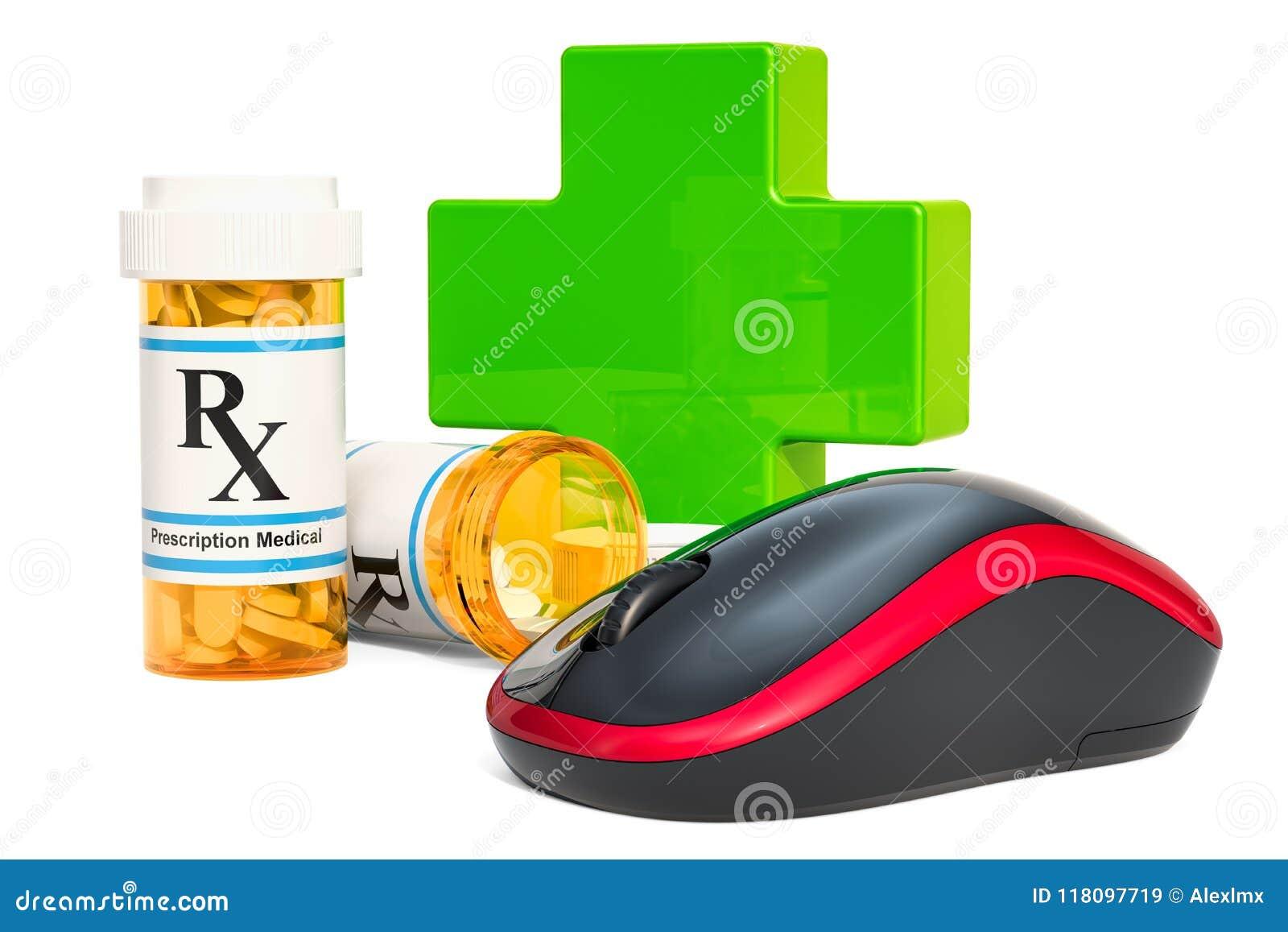b261c8ad607 Online Drugstore Concept