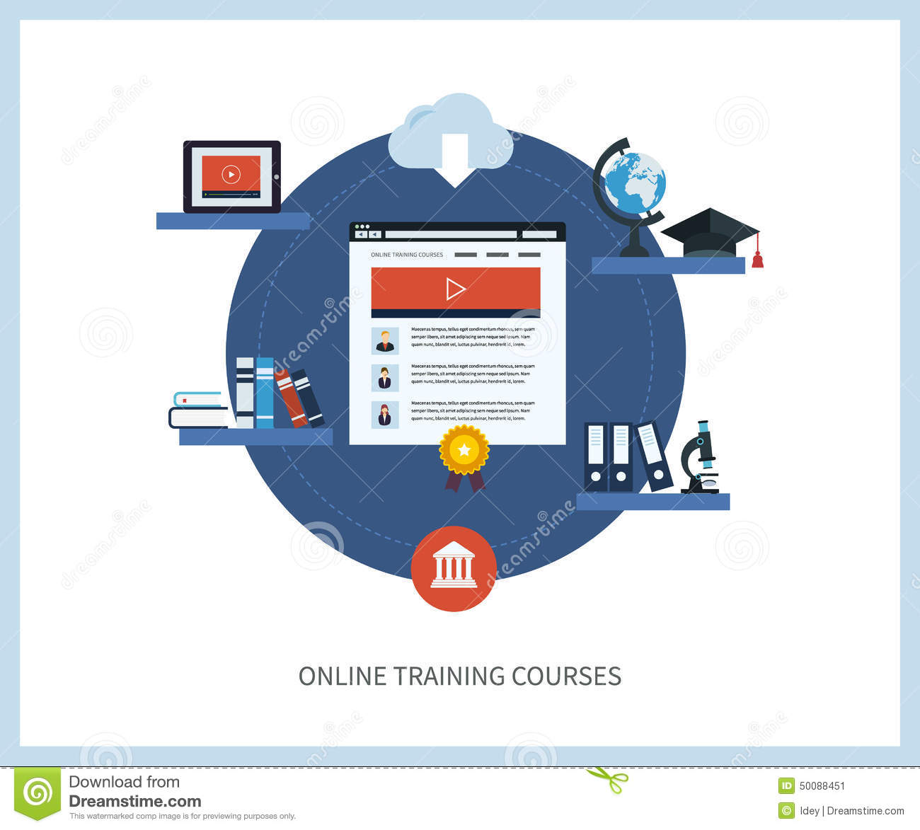 Education online physics course college credit