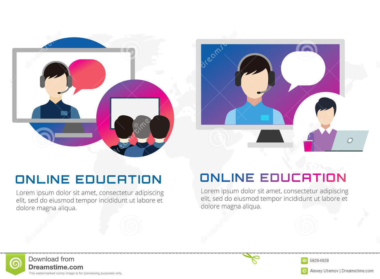 Illustration 4 credit courses