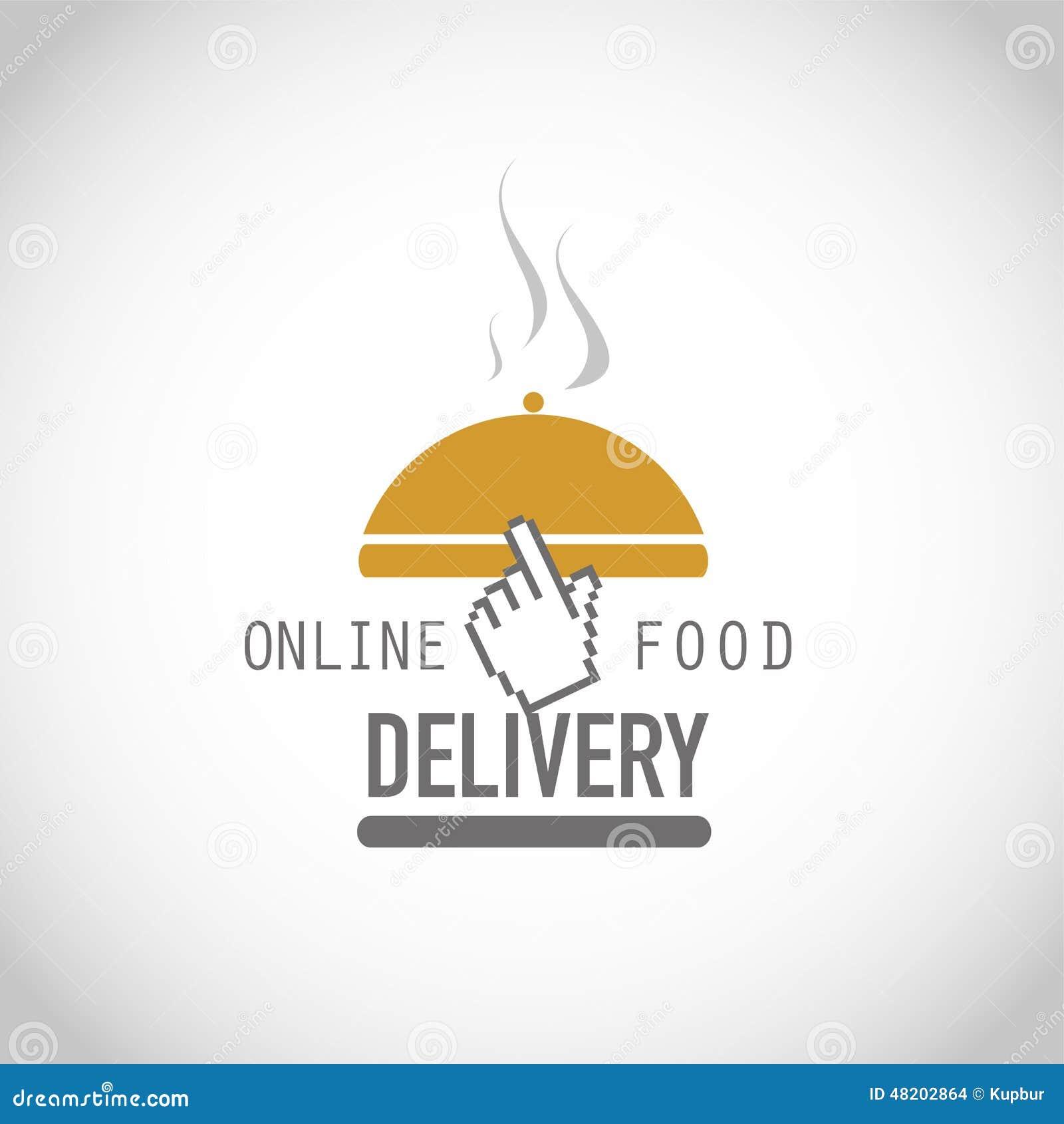 Online Food Delivery Illustration 48202864 Megapixl