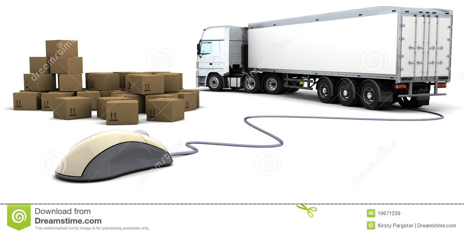 online freight order tracking stock illustration illustration of