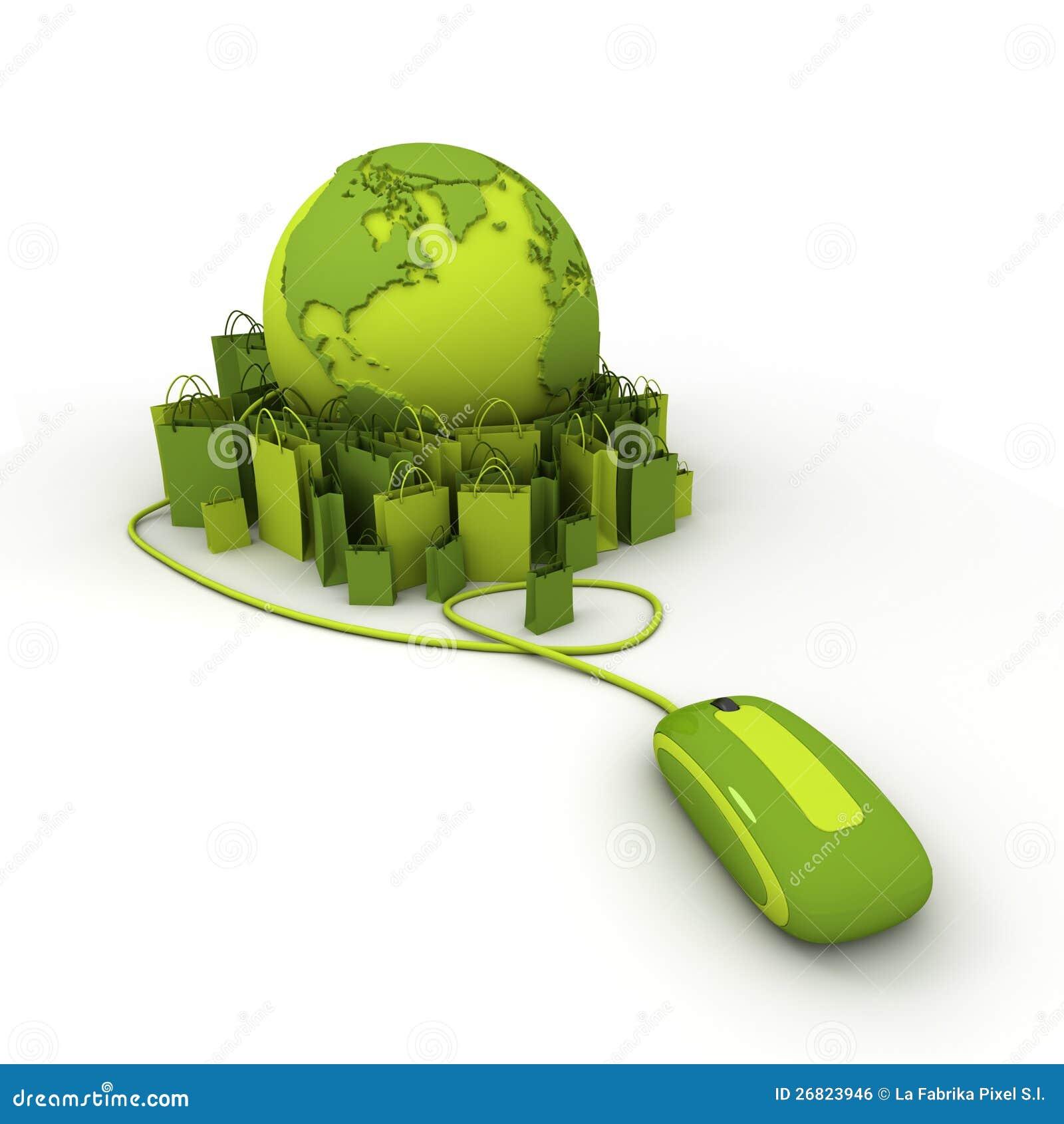 Green online shopping