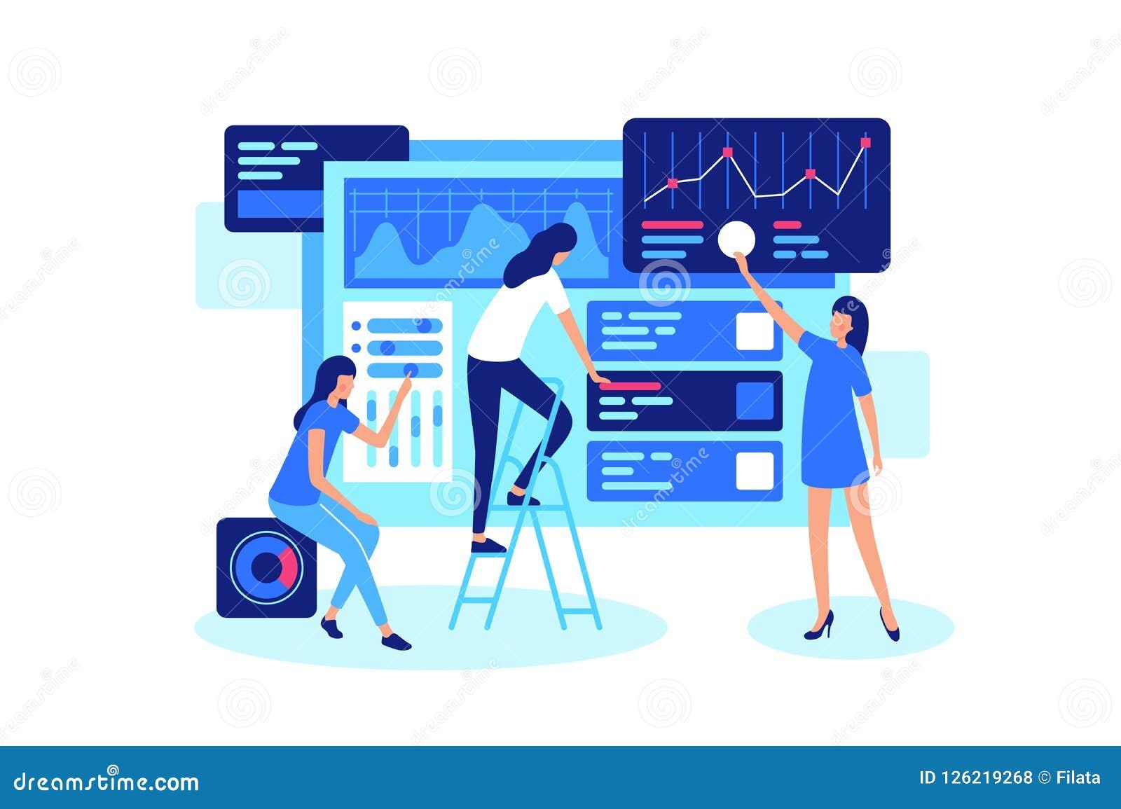 Online groepswerk bij de marketing in Internet in groep