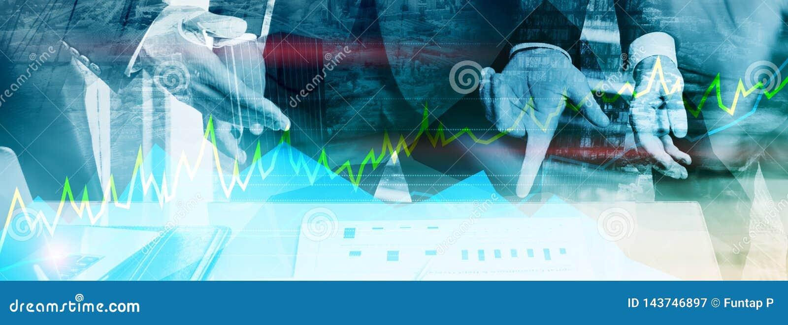Online handel, poj?cie, rynk?w walutowych, inwestyci i rynku finansowego,