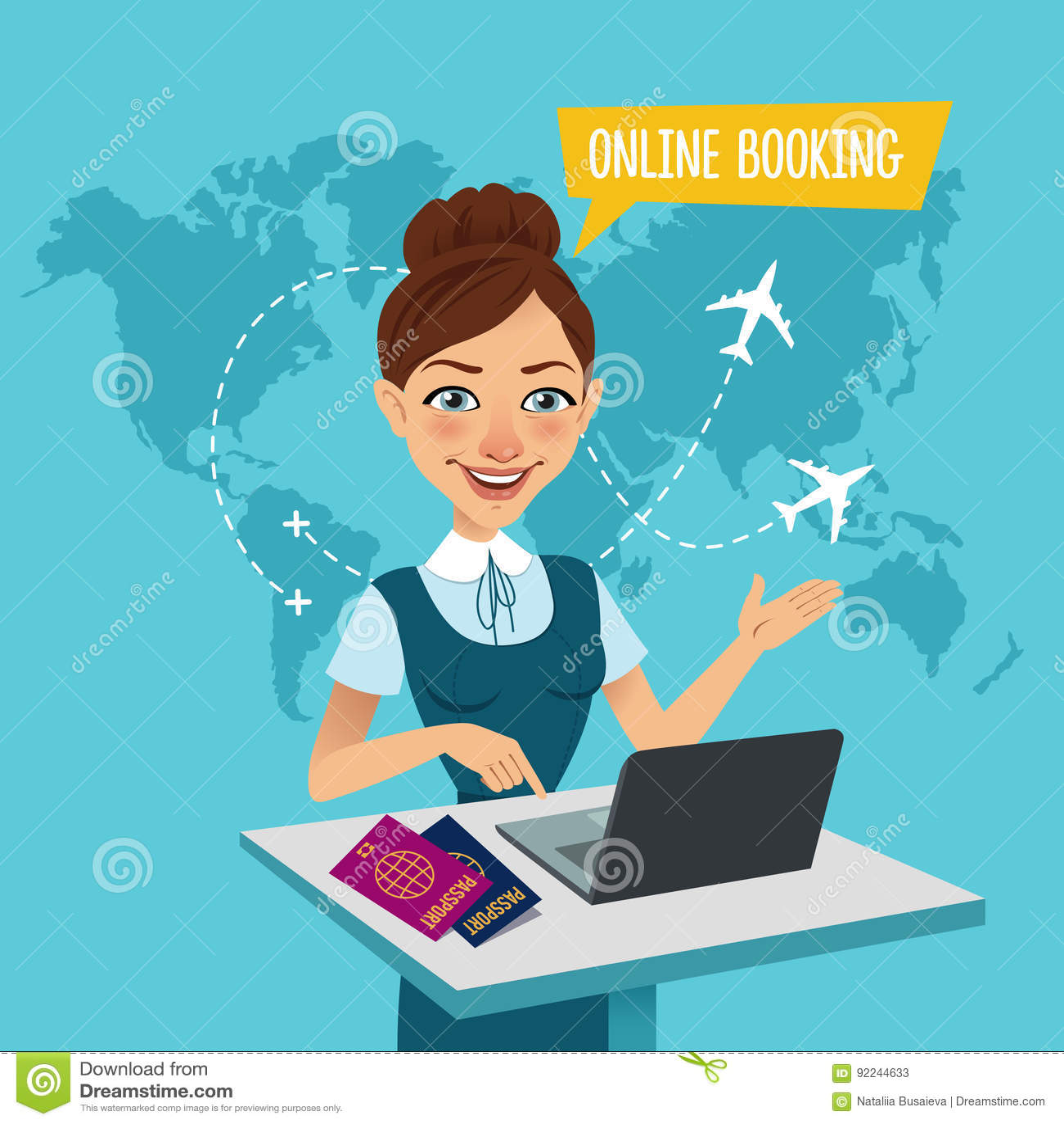 online vlucht boeken