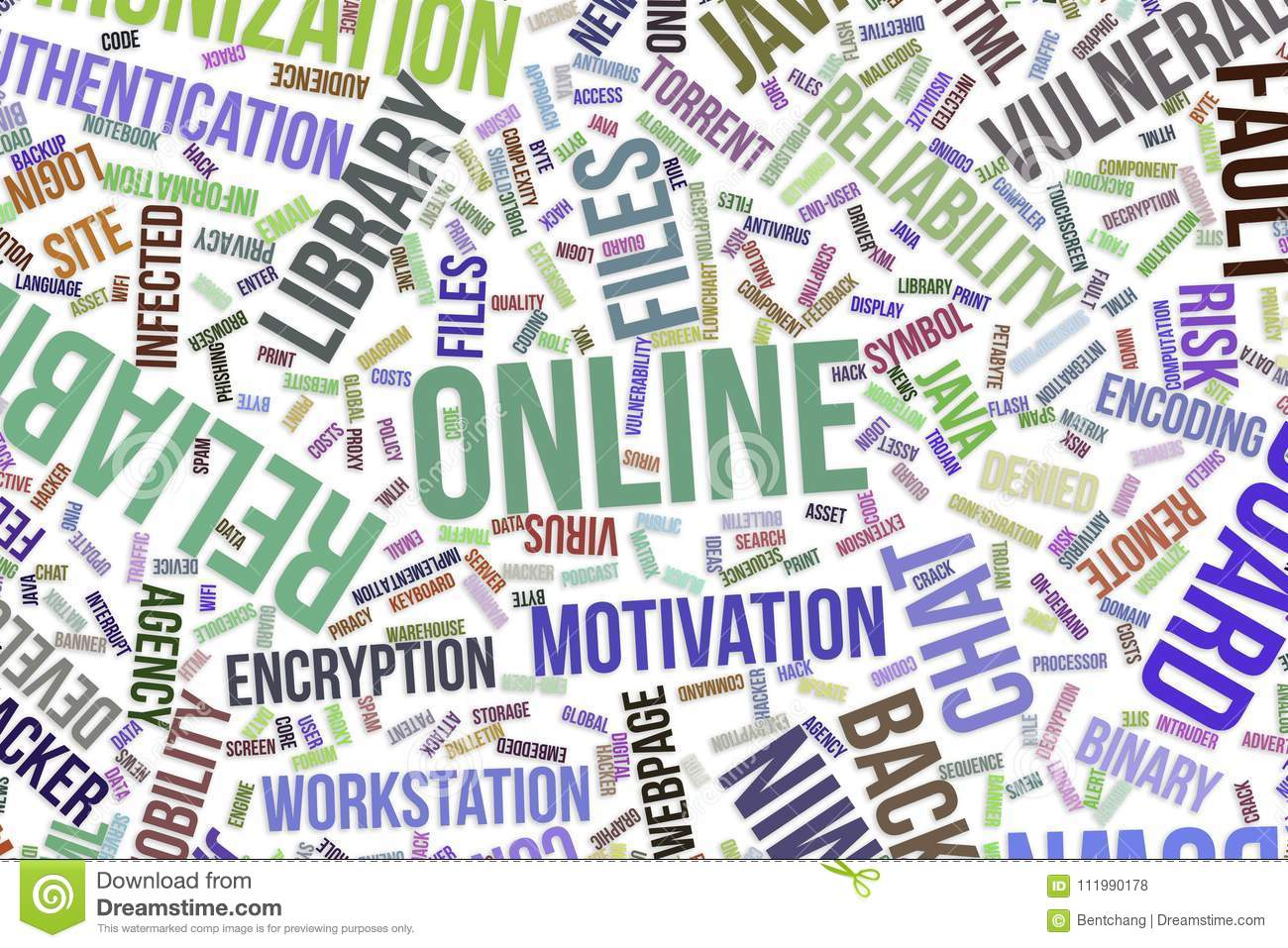 Online Conceptual Word Cloud For Business Information