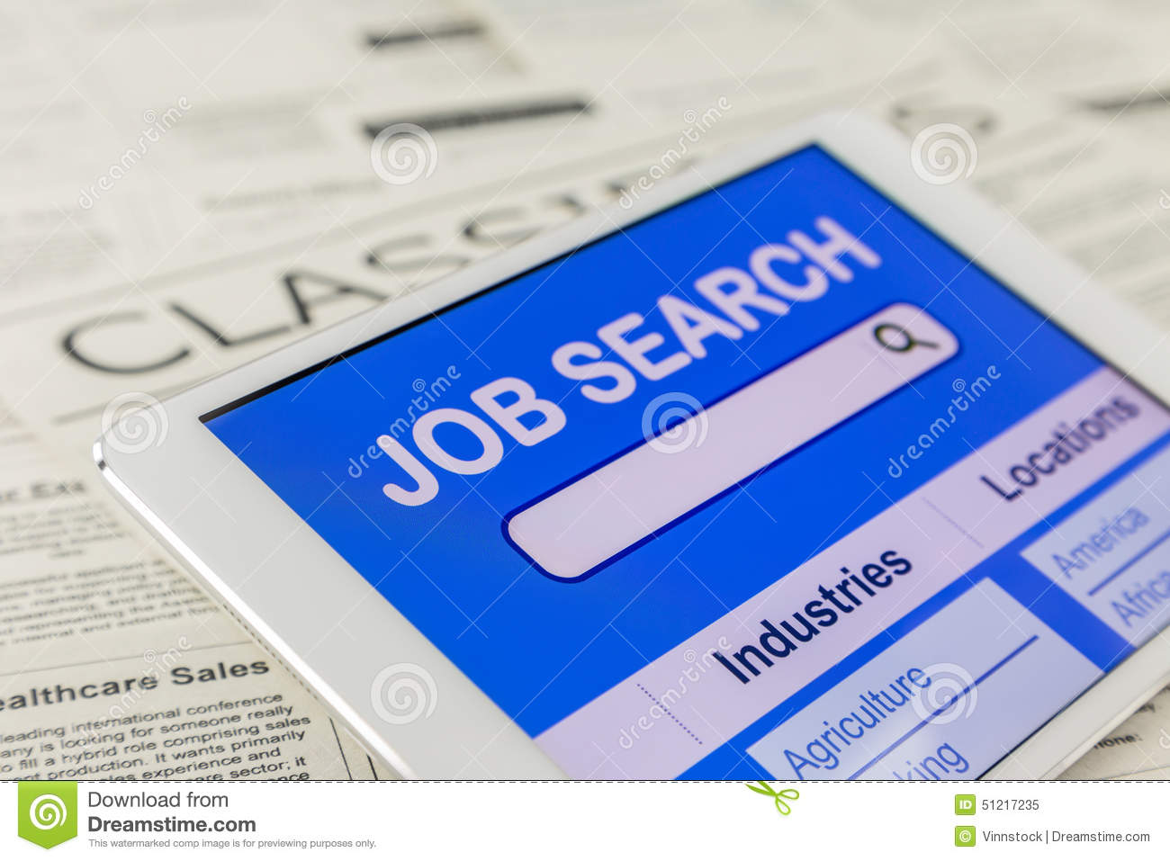 online internet for job search stock photo image  online internet for job search
