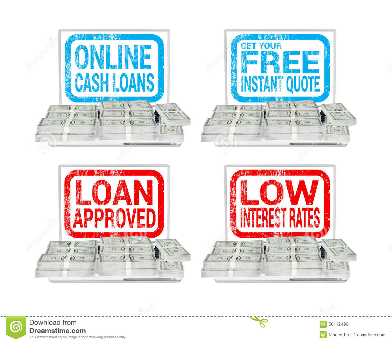 Lend borrow shows borrowing or lending royalty free stock Borrowing money to build a house