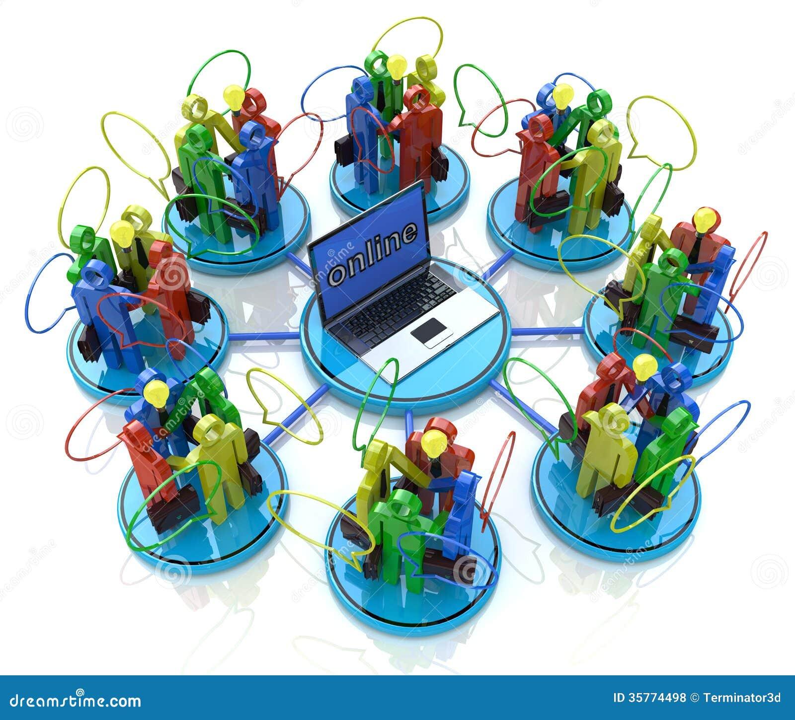 online meetings royalty free stock photos