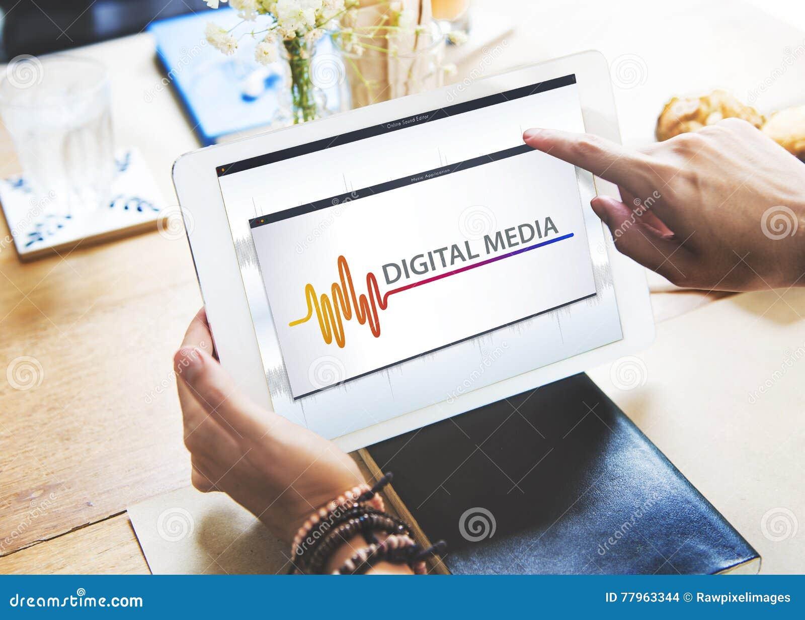 Online Muzyczna Multimedialna rozrywka Brzmi pojęcie