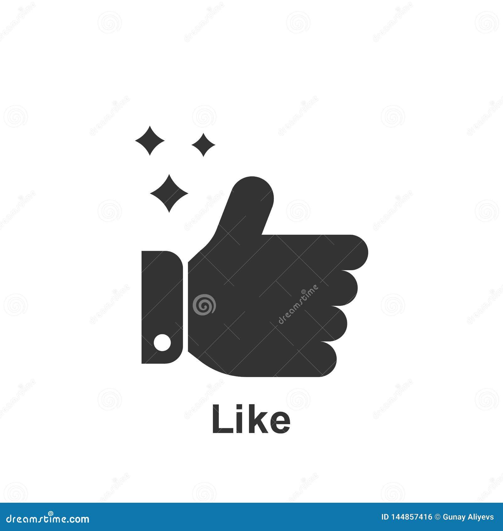 Online op de markt brengend, als pictogram Element van online marketing pictogram Grafisch het ontwerppictogram van de premiekwal