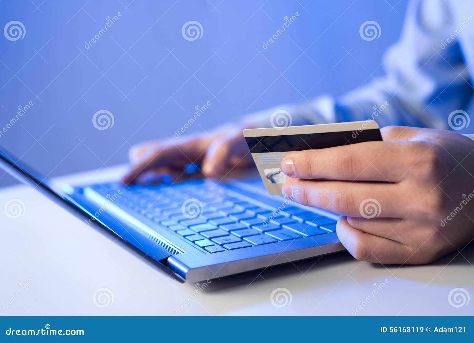 online payment stock photo image 56168119. Black Bedroom Furniture Sets. Home Design Ideas