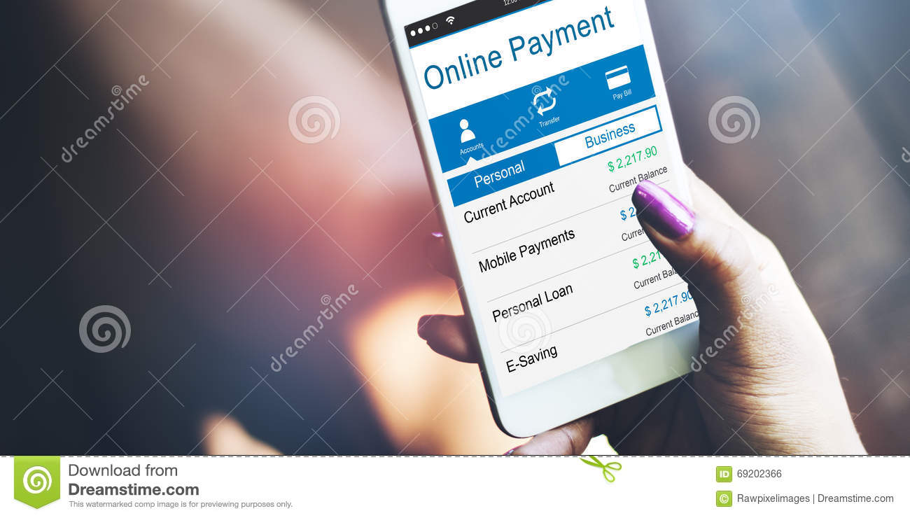 Online Payment Purchase Merchandise Buying Paying Concept