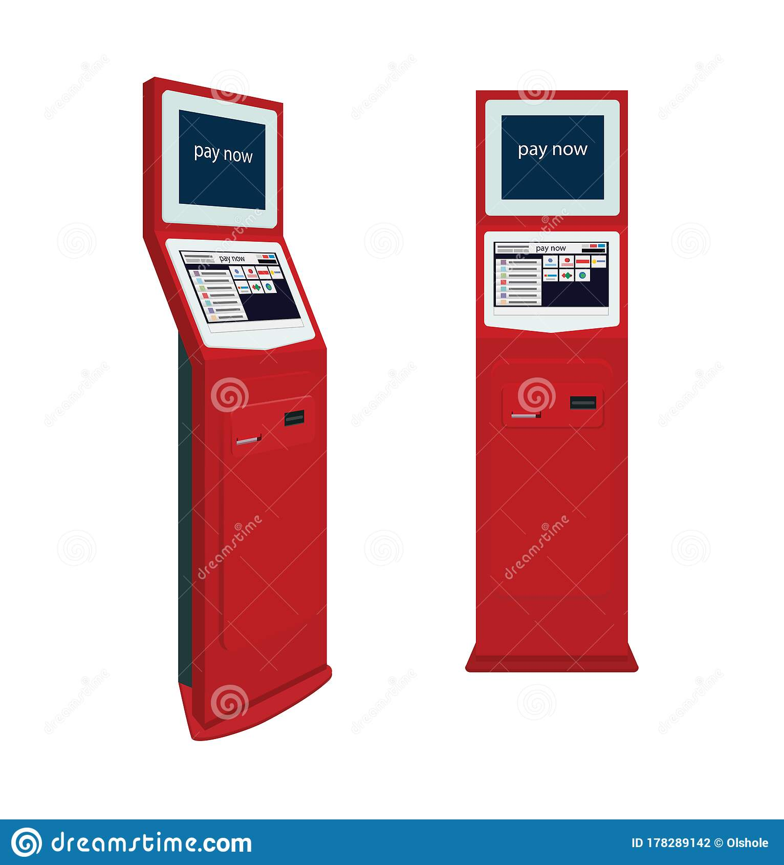 online payment systems and selfservice payments terminals