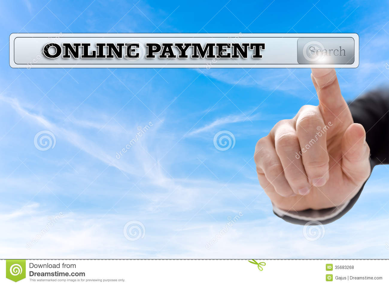 Online Payment Royalty Free Stock Photos - Image: 35683268