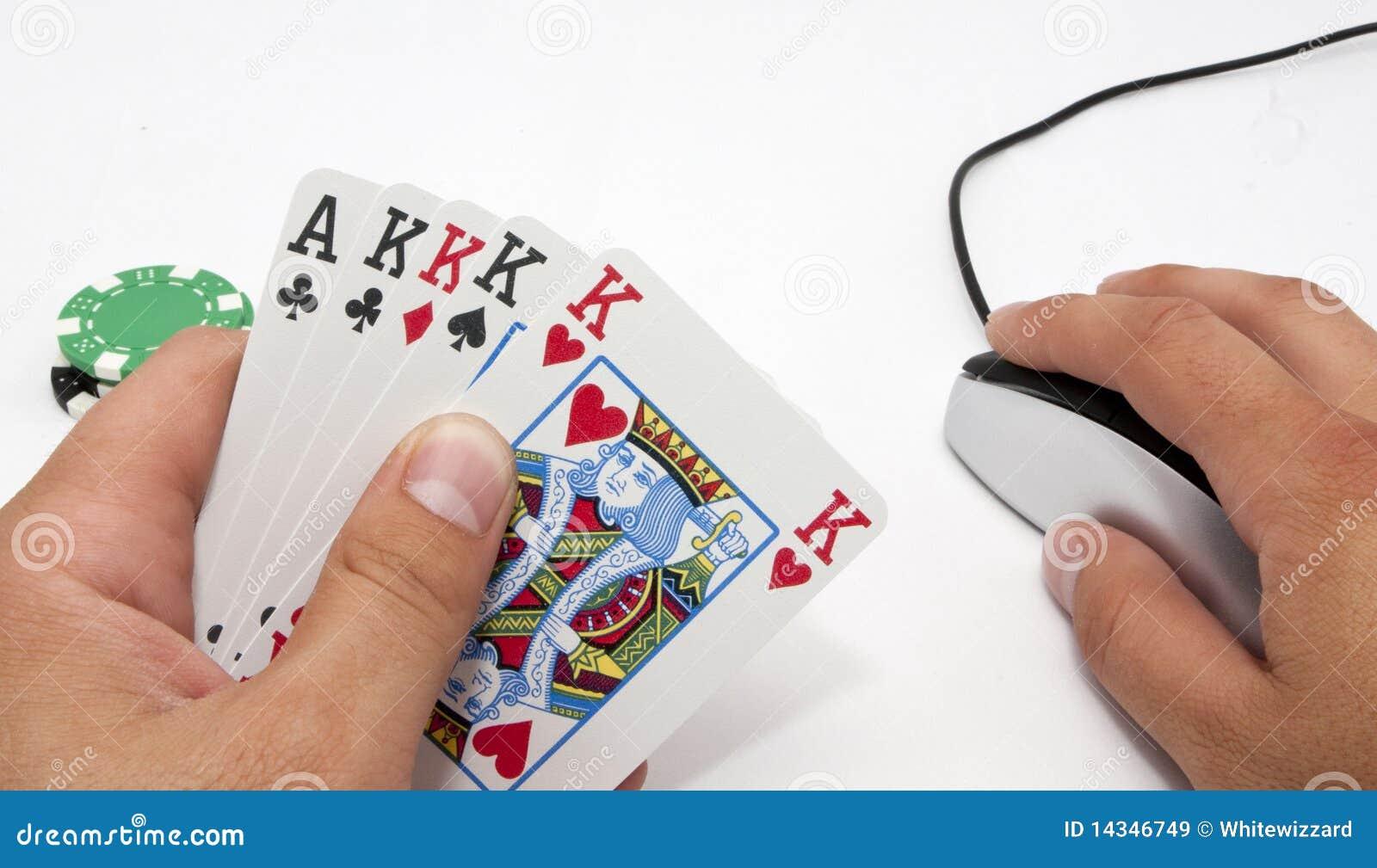Online-poker för draw 5