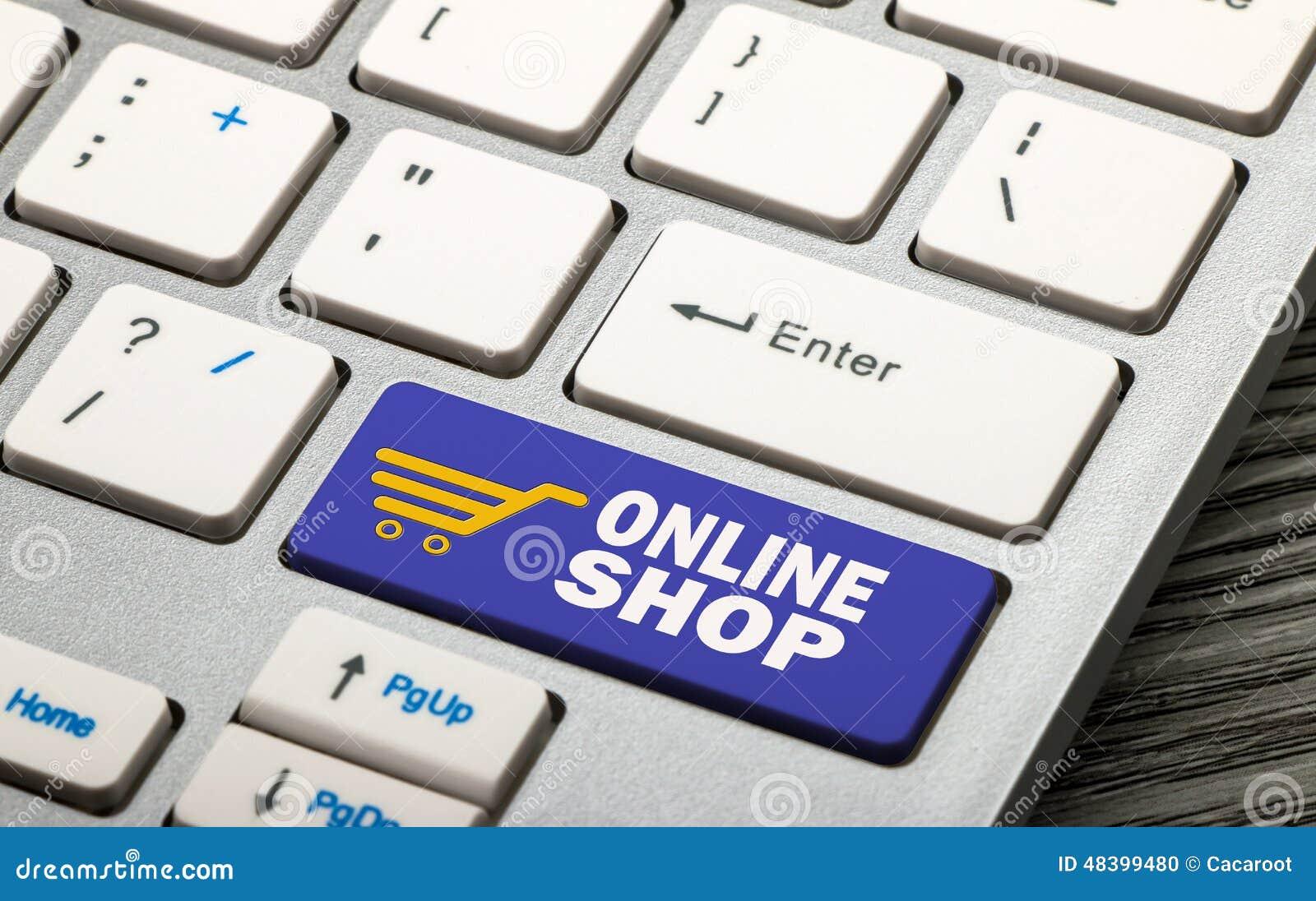 shop online royalty free cartoon 13567604. Black Bedroom Furniture Sets. Home Design Ideas