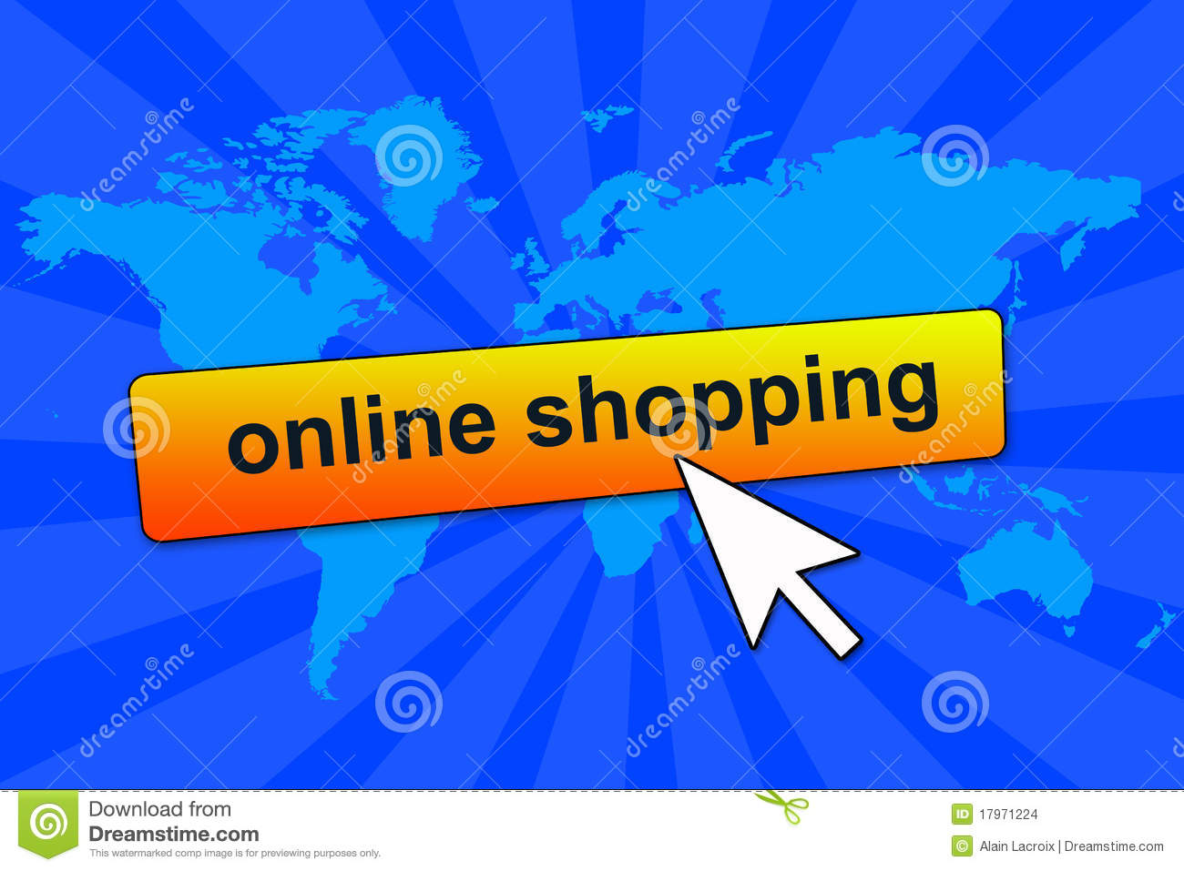 Online Shopping Stock Images Image 17971224