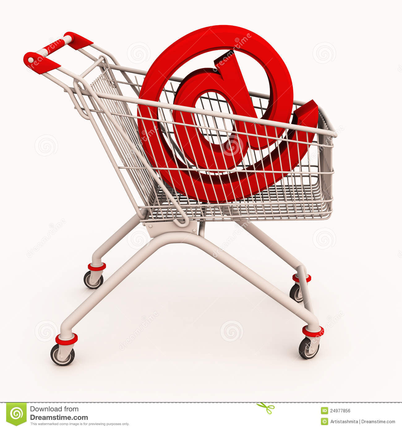 Royalty Free Photos Online Online shopping cart
