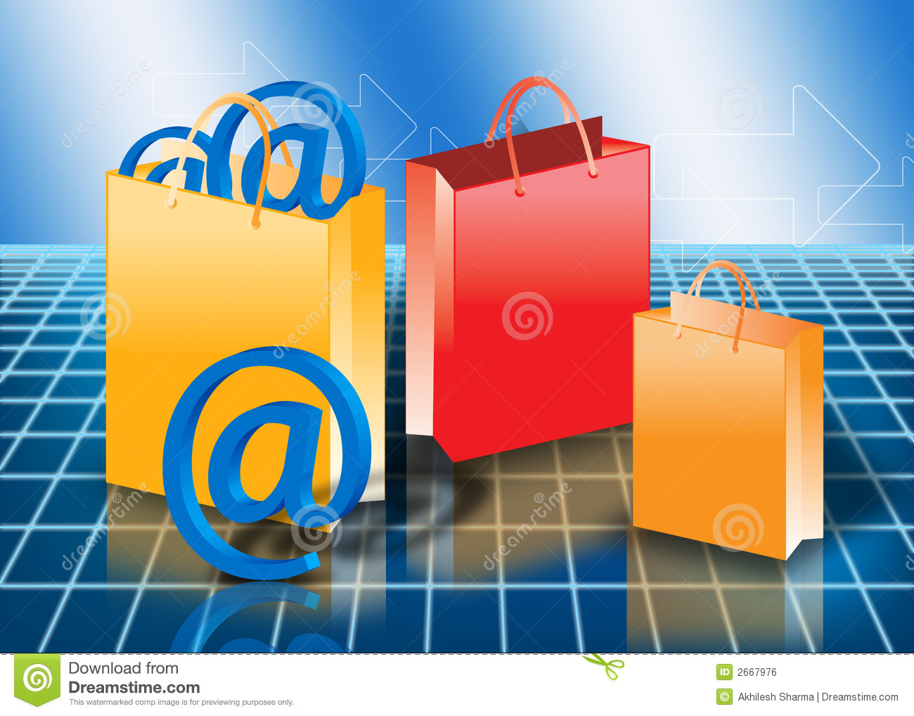 Royalty Free Photos Online Online shopping Concept