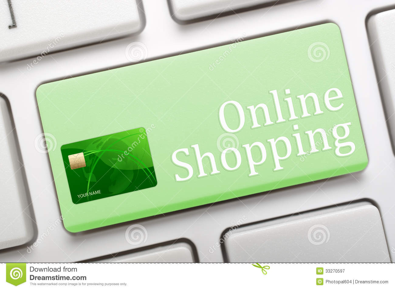 Online shop credit